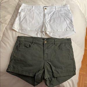 H&M short bundle